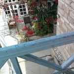 vom balkon