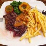 My steak dinner