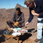 Lunch on the High Atlas Mountains