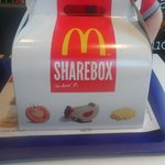 Mc Donalds family sharebox what got us by