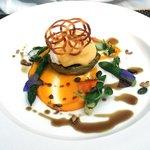 Asparagus, butternut squash, salsify