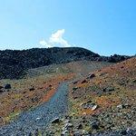 Дорога вглубь вулкана