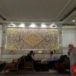 Lobby of laleh hotel
