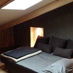 mezzanine chambre bois flotté