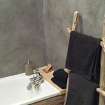 salle de bains chambre bois flotté
