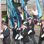 Standard Bearers on parade