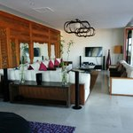 Lounge room 2 bedroom villa