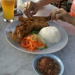 Indonesian style chicken