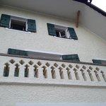 С балкона