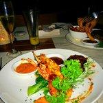 Dinner at Finns Beach Club