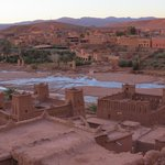 Ait Ben Haddou from the Kasbar