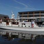 Start bij Amsterdam Marina