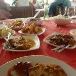 excellent buffet lunch