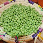 Peas right from the garden of Salama Ayurveda