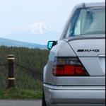 遠くに富士山見えます