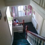 Stairs to the front entrance