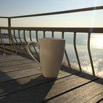 Sunrise and tea