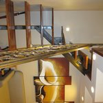 Stairs in the suit room (2floors rooms  upp bedroom)