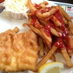 Halibut and Fries