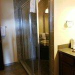 Huge shower in king master suite