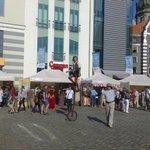 День города на Ратушной площади в  Старом городе