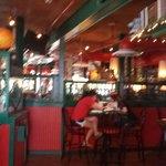 Indoor Bar Area (sorry blurry)