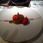 Chocolate Raspberry dessert