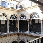 Patio del Palacio, desde el segundo piso