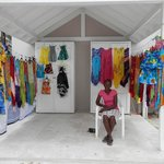 Celia sold beachwear and was so lovely every day