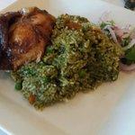 Pollo con arroz