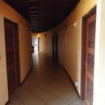accès aux chambres à l'étage