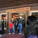 Old Faithful Inn entrance