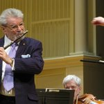 Sir James Galway at Symphony Hall