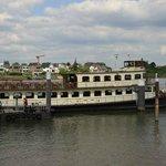 Ship at Kinderdijk