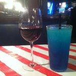 Wine and a slushee