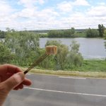panoramic view over the Loire river