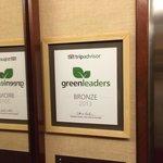 2013年TripadviserのGreen LeaderのBronz Medalを獲得です