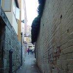small pathways to sneak through