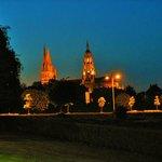 vista della cattedrale dalla mia camera