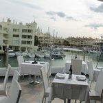 Amazing view of Benalmadena Marina