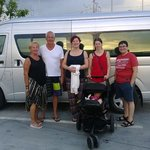 The family visit to Phi Phi Island Phuket Thailand