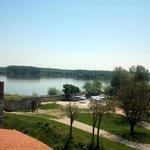 "Danube river view from top of ""Baba Vida"""
