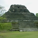 """the Castillo Temple @ """" Xunantunch """" you can climb to the TOP..."""