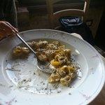 Tortellini con tartufo