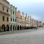 View of the Historic Centre of Telc