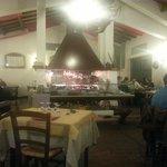 The big barbecue at the Re di Puglia restaurant