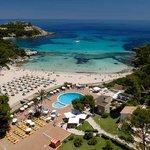 Vue du ciel du Club Marmara