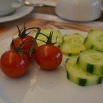 Ensalada en el desayuno