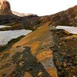 glaciers scraped these rock formations a few short decades ago