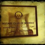 OPP., THE PARTY HALL WERE ROTARIANS MEET